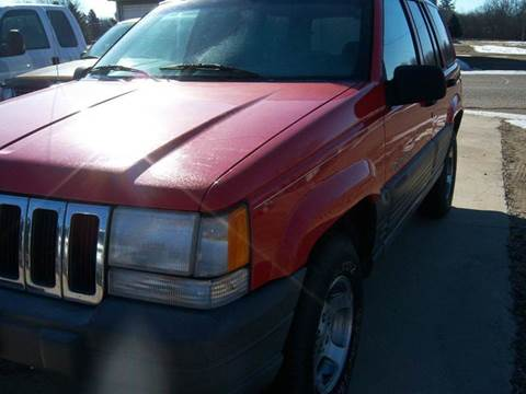 1996 Jeep Grand Cherokee for sale in Atwater MN