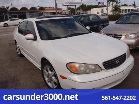 2002 Infiniti I35 for sale in Lake Worth, FL