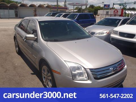 2007 Ford Fusion for sale in Lake Worth, FL