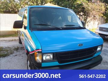 2000 Ford E-150 for sale in Lake Worth, FL