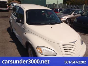 2004 Chrysler PT Cruiser for sale in Lake Worth, FL