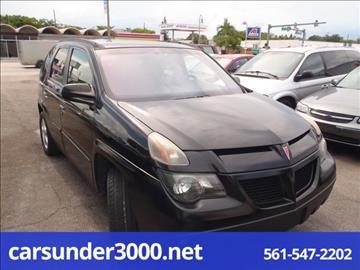 2003 Pontiac Aztek for sale in Lake Worth, FL