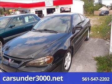 2000 Pontiac Grand Am for sale in Lake Worth, FL