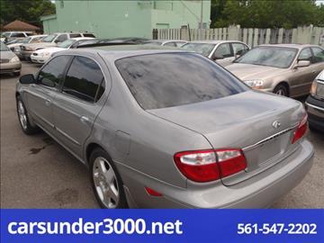 2001 Infiniti I30 for sale in Lake Worth, FL