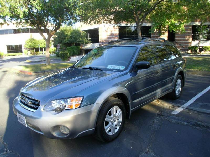 2005 Subaru Outback 2 5i Awd 4dr Wagon In Sacramento Ca