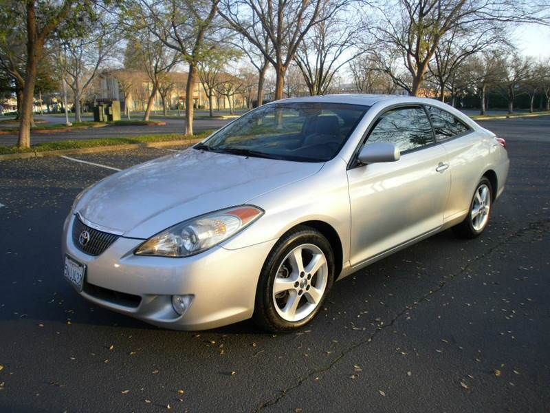 2006 toyota camry solara se v6 2dr coupe in sacramento ca. Black Bedroom Furniture Sets. Home Design Ideas