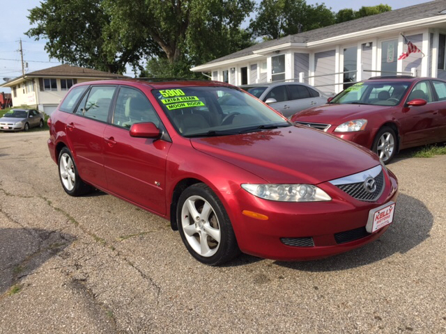 2004 mazda mazda6 s 4dr sport wagon in johnston ia kelly motors. Black Bedroom Furniture Sets. Home Design Ideas