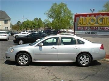 2011 Chevrolet Impala for sale in Portsmouth, VA