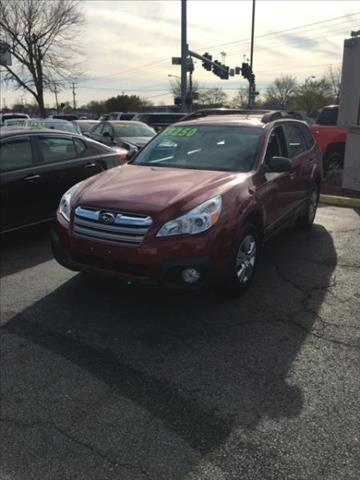 2013 Subaru Outback for sale in Portsmouth, VA