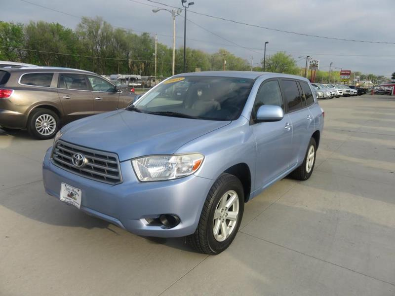 Toyota Highlander For Sale In Des Moines Ia