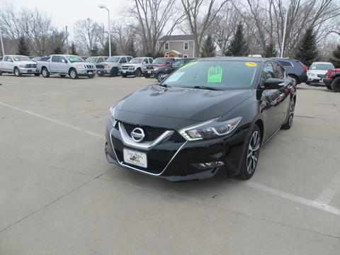 2017 Nissan Maxima for sale in Des Moines, IA