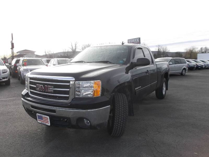 2013 GMC Sierra 1500 4x4 SLE 4dr Extended Cab 6.5 ft. SB - Watertown NY