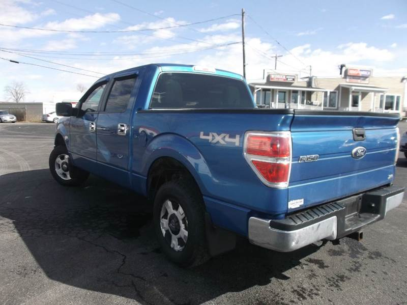 2010 Ford F-150 XLT 4x4 4dr SuperCrew Styleside 5.5 ft. SB - Watertown NY