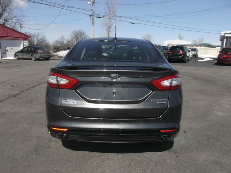2016 Ford Fusion Titanium 4dr Sedan - Watertown NY