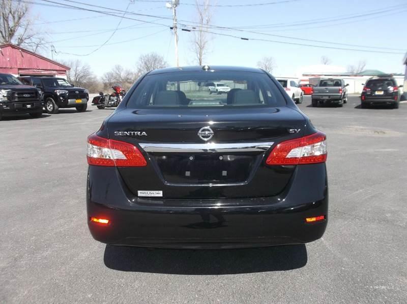 2015 Nissan Sentra SV 4dr Sedan - Watertown NY