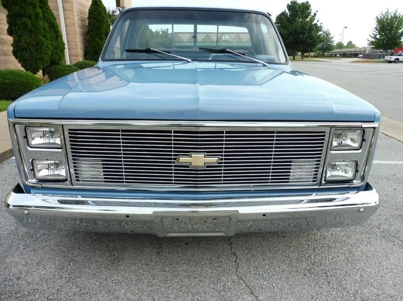 1983 Chevrolet C/K 10 Series 2dr C10 Silverado Standard Cab LB - Springdale AR