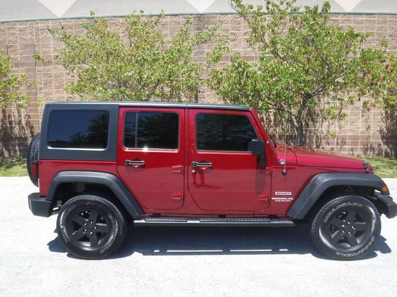 2013 Jeep Wrangler Unlimited 4x4 Sport 4dr SUV - Springdale AR