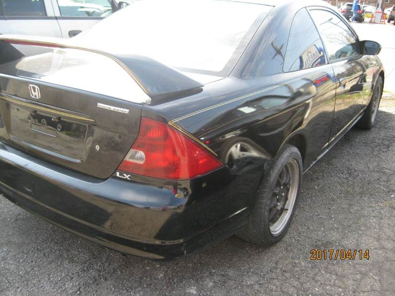 2002 Honda Civic LX 2dr Coupe - Cleveland OH