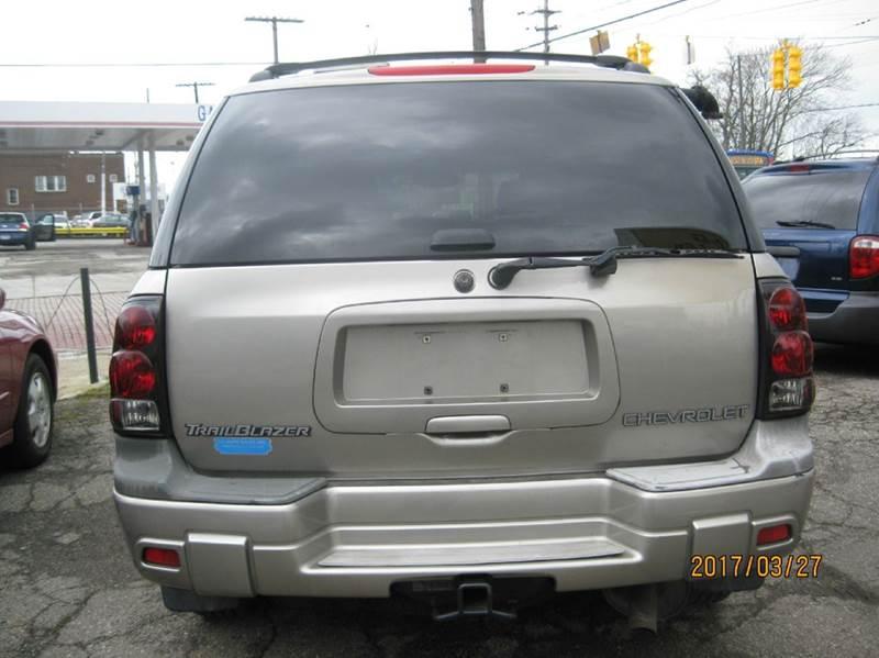 2003 Chevrolet TrailBlazer LT 4WD 4dr SUV - Cleveland OH