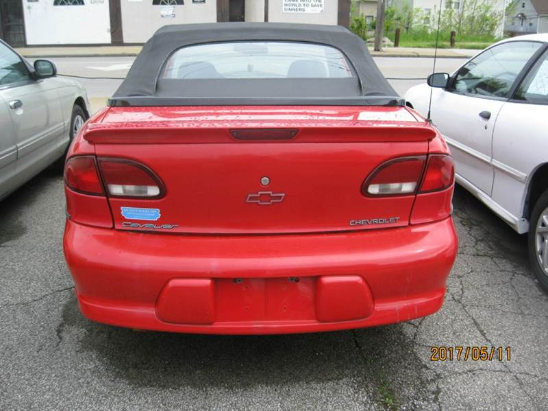 1998 Chevrolet Cavalier Z24 2dr Convertible - Cleveland OH