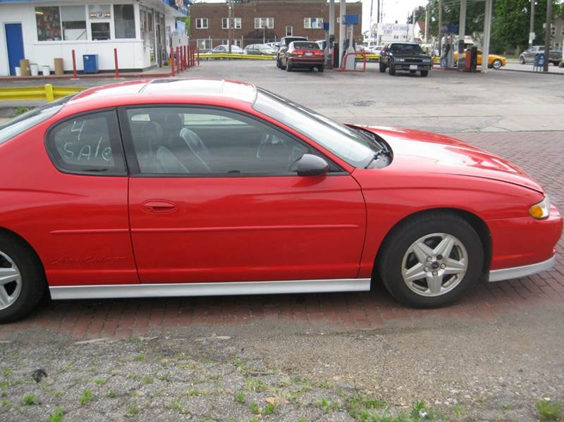2001 Chevrolet Monte Carlo SS 2dr Coupe - Cleveland OH