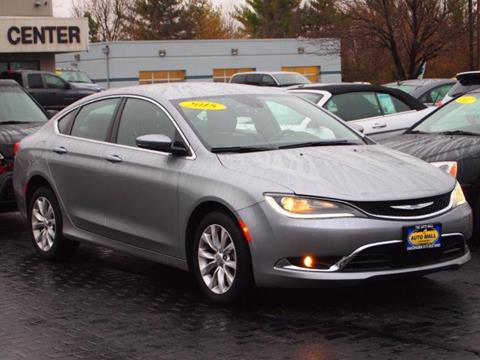 2015 Chrysler 200 for sale in Champaign, IL