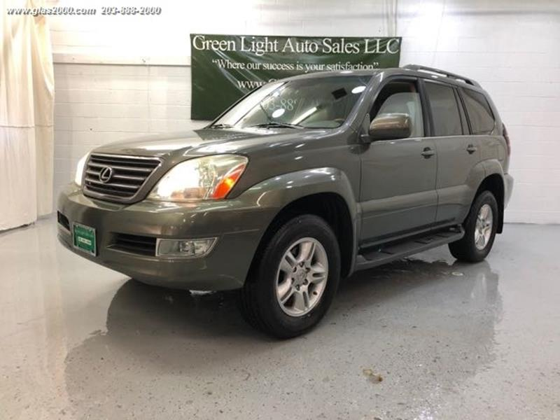 2006 Lexus Gx 470 4dr Suv 4wd In Seymour Ct Green Light Auto Sales Llc