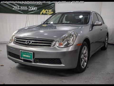 2005 Infiniti G35 for sale in Seymour, CT