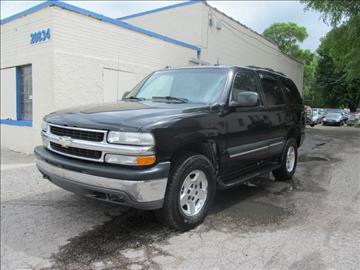 2004 Chevrolet Tahoe for sale in Detroit, MI