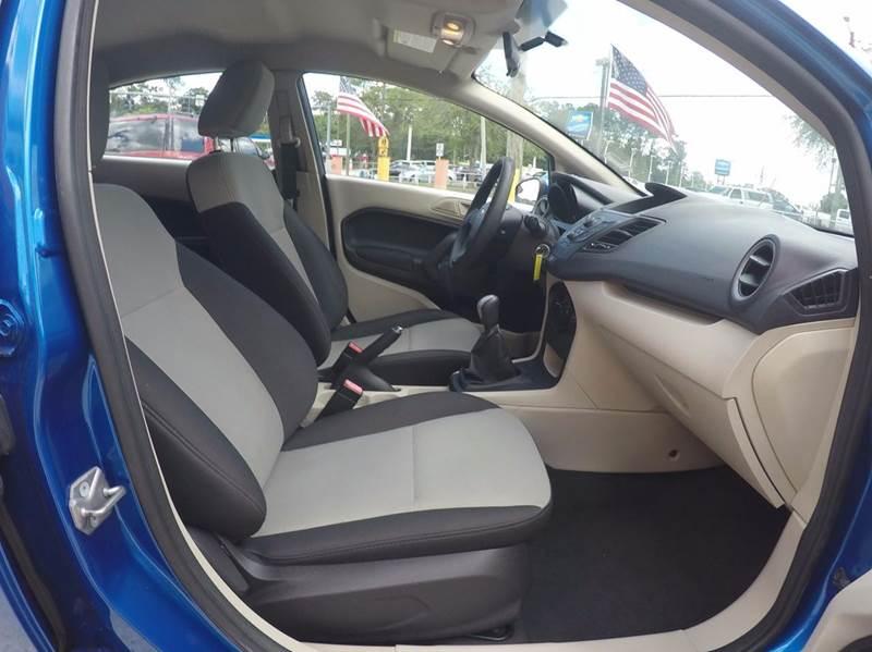 2011 Ford Fiesta S 4dr Sedan - Jacksonville FL