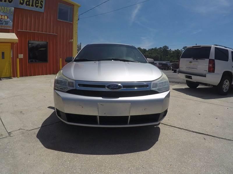 2010 Ford Focus SE 4dr Sedan - Jacksonville FL