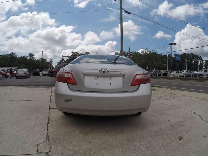 2008 Toyota Camry LE 4dr Sedan 5A - Jacksonville FL