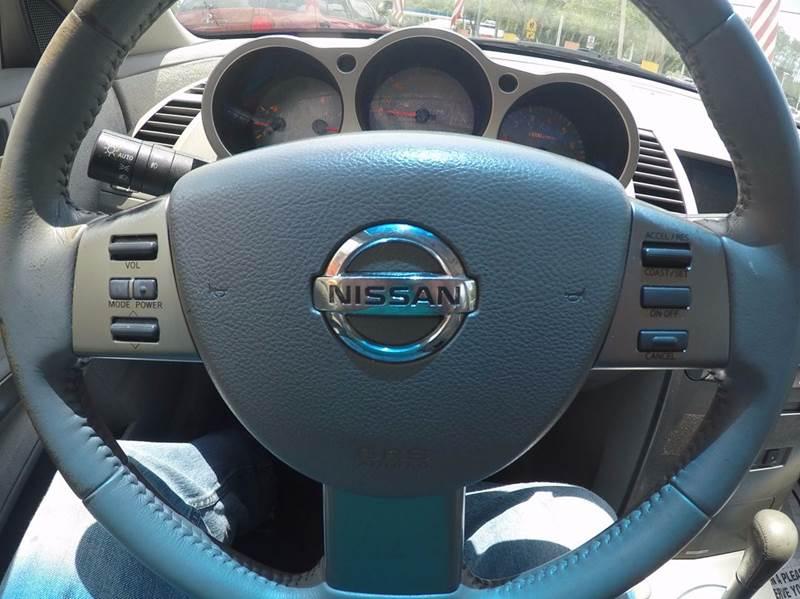 2004 Nissan Maxima 3.5 SE 4dr Sedan - Jacksonville FL