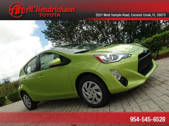 2015 toyota prius c for sale in coconut creek fl. Black Bedroom Furniture Sets. Home Design Ideas