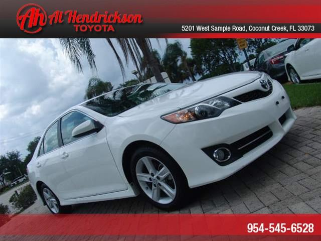 used 2013 toyota camry se in coconut creek fl at al hendrickson toyota. Black Bedroom Furniture Sets. Home Design Ideas