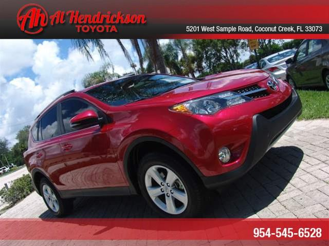 2013 Toyota RAV4 for sale in COCONUT CREEK FL