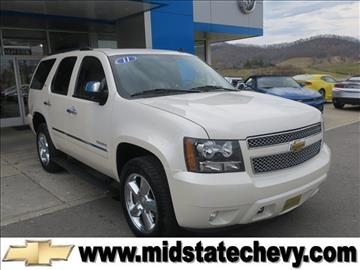 2011 Chevrolet Tahoe for sale in Sutton, WV