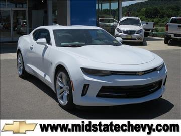 2016 Chevrolet Camaro for sale in Sutton, WV
