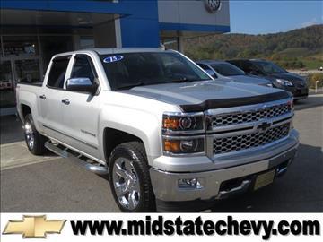 2015 Chevrolet Silverado 1500 for sale in Sutton, WV