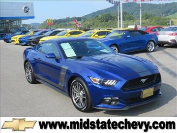 2016 Ford Mustang for sale in Sutton, WV