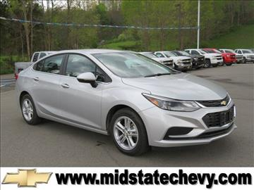 2017 Chevrolet Cruze for sale in Sutton, WV
