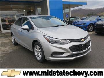 2017 Chevrolet Cruze for sale in Sutton, WV