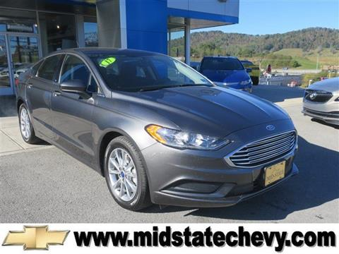 2017 Ford Fusion for sale in Sutton, WV