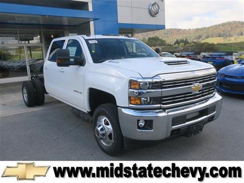 2018 Chevrolet Silverado 3500HD CC for sale in Sutton, WV
