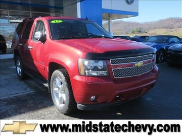 2012 Chevrolet Tahoe for sale in Sutton, WV