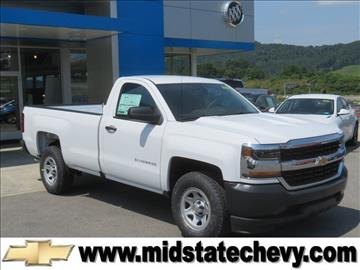 2017 Chevrolet Silverado 1500 for sale in Sutton, WV
