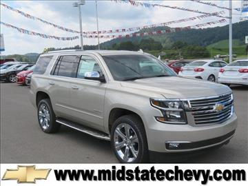 2017 Chevrolet Tahoe for sale in Sutton, WV