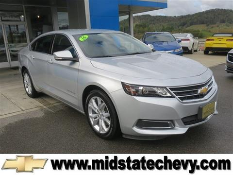 2016 Chevrolet Impala for sale in Sutton, WV