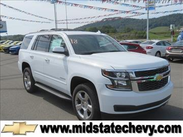 2018 Chevrolet Tahoe for sale in Sutton, WV