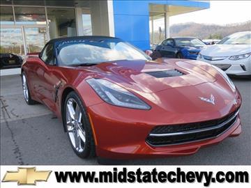 2015 Chevrolet Corvette for sale in Sutton, WV